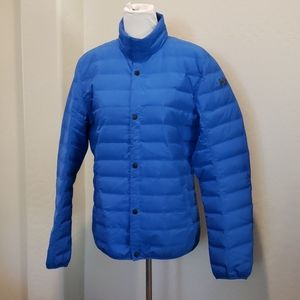 Helly Hanson Electric Blue Duck Down Coat Size M